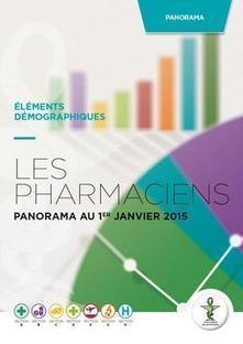 Les pharmaciens - Panorama au 1er janvier 2015 - Communications - Ordre National des Pharmaciens   De la E santé...à la E pharmacie..y a qu'un pas (en fait plusieurs)...   Scoop.it