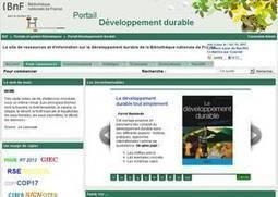 Uved : UVED collabore au portail Développement durable de la BnF | les docs | Scoop.it