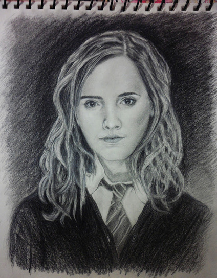 Live Your Hobbies: Art - Emma Watson Pencil Portrait | Live Your Hobbies | Scoop.it