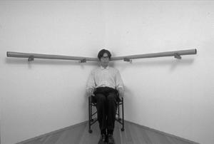 Yukio Fujimoto, Ears with Chair   DESARTSONNANTS - CRÉATION SONORE ET ENVIRONNEMENT - ENVIRONMENTAL SOUND ART - PAYSAGES ET ECOLOGIE SONORE   Scoop.it