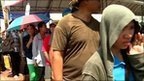 BBC video report: Thai flood victims queue for meals | Thailand Floods (#ThaiFloodEng) | Scoop.it