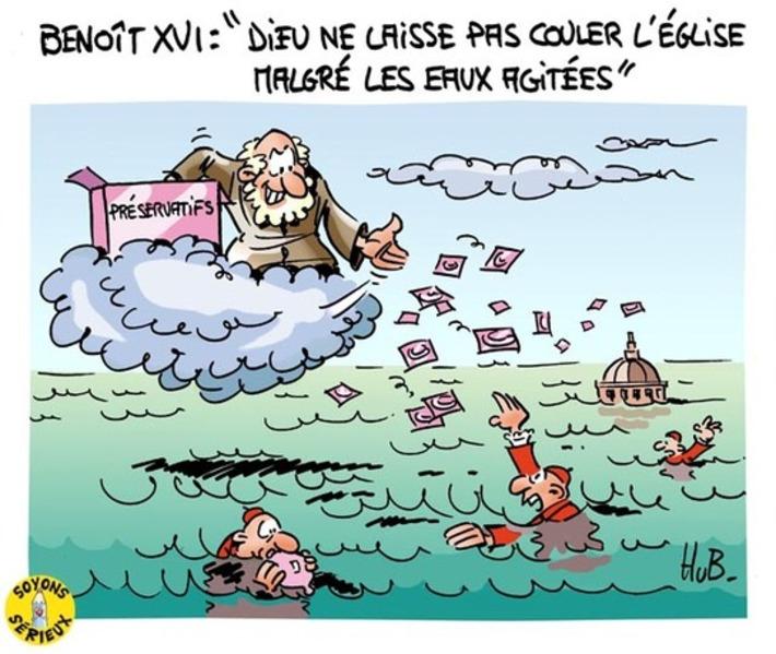 Dernier message de Benoît XVI | Baie d'humour | Scoop.it