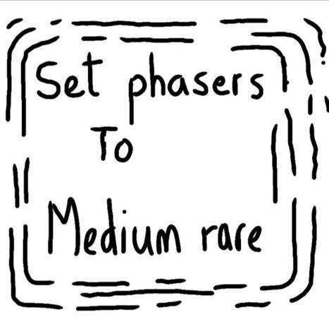 Phasers to medium rare | Art | Scoop.it