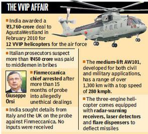 VVIP chopper Deal Exposed | Swadesh News | Scoop.it