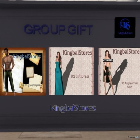 Three Group Gifts for Men and Women by KingbalStores | Teleport Hub - Second Life Freebies | Second Life Freebies | Scoop.it