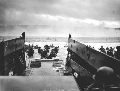 WHO-Tube: HD Stock Footage WWII D-Day Assault Normandy Invasion - War History Online | WWII | Scoop.it