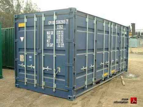 Beginner's Guide To Storage And Shipping Containers | Shipping Container for Sale | Scoop.it
