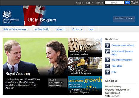 Exemple à suivre : l'ambassade de Grande-Bretagne - 60 questions ...   Ecrire Web   Scoop.it
