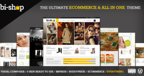 Bi-Shop - All In One Ecommerce & Corporate theme v1.2.9 | Wordpress Themes | Scoop.it