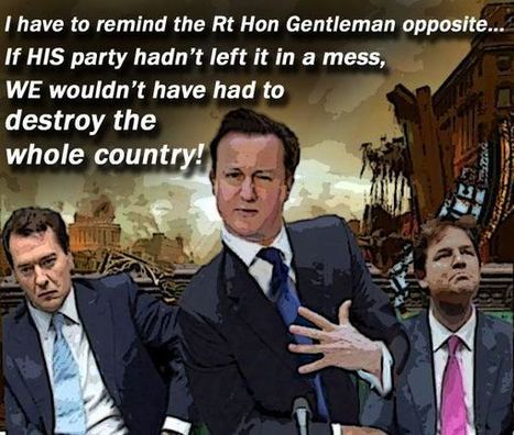 Tory lies, austerity and socio-economic entropy | UK Column | David Cameron's Corrupt & Paedophile Friends | Scoop.it
