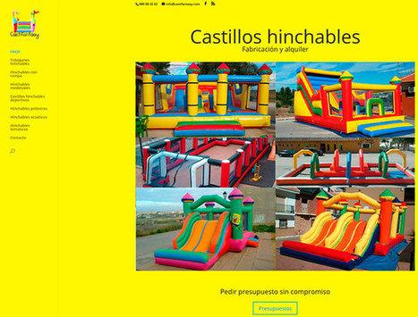 Rediseño web fabricante de castillos hinchables | Diseño web Málaga - Posicionamiento en buscadores, tiendas online | Diseño Web Málaga | Scoop.it