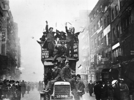 A History of the First World War in 100 moments: After 1560 days, at the ... - The Independent | world war I | Scoop.it