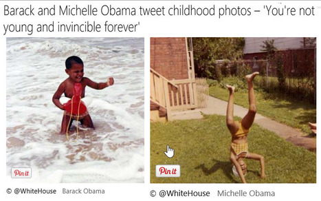 Obamas tweet photos – 'You're not young and invincible forever'   MSN News - Politics   01/30/15   FDW's Daily Scoops   Scoop.it