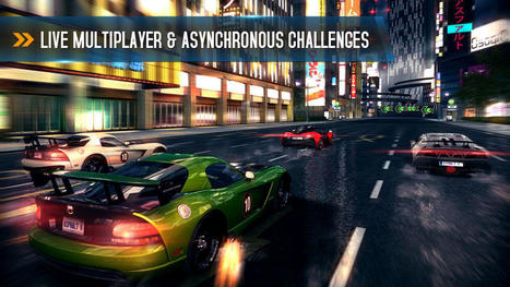 Best iOS Games - August 2013: 'Asphalt 8', 'Mikey Hooks', and ... | Graphics | Scoop.it