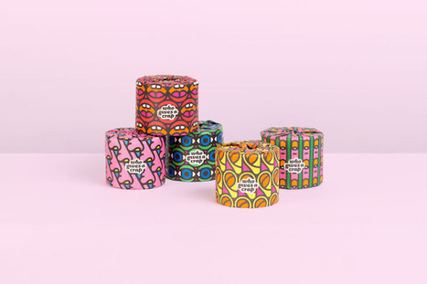 Craig & Karl's funky toilet paper wrappers for Who Gives a Crap | D_sign | Scoop.it
