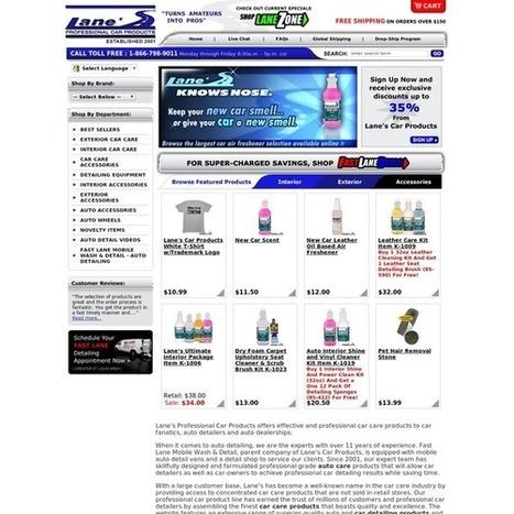 Automotive detailing product | LanesCar | Scoop.it