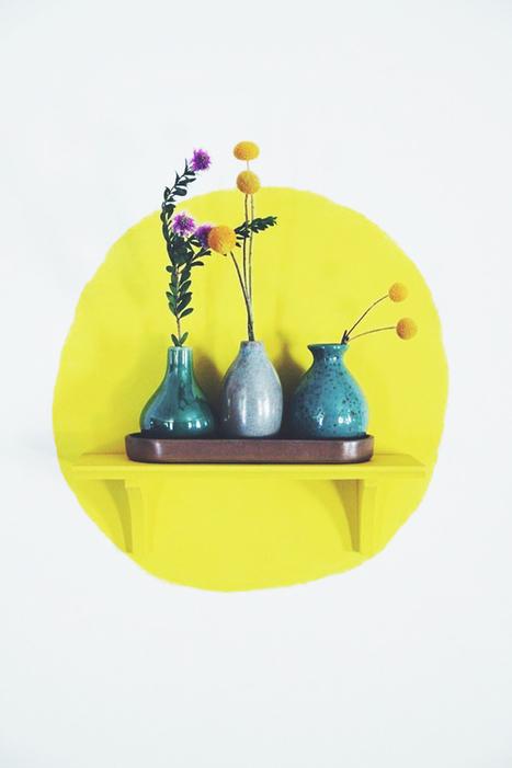 DIY | Une façon originale de peindre ses murs ! | décoration & déco | Scoop.it