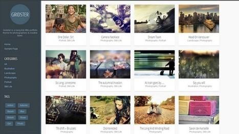 Gridster Portfolio WordPress Theme | Free & Premium WordPress Themes | Scoop.it