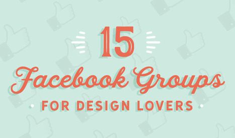 15 Facebook Groups for Design Lovers | Artdictive Habits : Sustainable Lifestyle | Scoop.it
