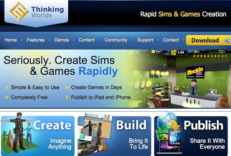 Thinking Worlds | Rapid Sims & Games Creation | Digital Delights - Avatars, Virtual Worlds, Gamification | Scoop.it