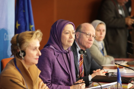 Maryam Rajavi, Iranian opposition leader: strongly criticized a role for Iran in combating ISIS | Iran News Update: News from Inside Iran | Scoop.it