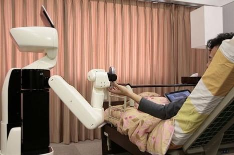 Toyota muestra un robot doméstico para ayudar a ancianos y minusválidos | Tecnología 2015 | Scoop.it