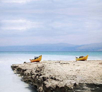 Kayak en mer morte - une aventure qui ne manque pas de sel   Le kayak de mer   Scoop.it