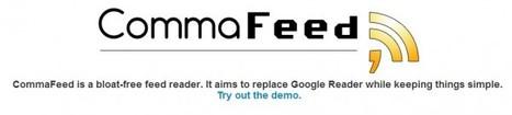 CommaFeed, más opciones para no echar tanto de menos a Google Reader.- | Software+App+Web.- | Scoop.it