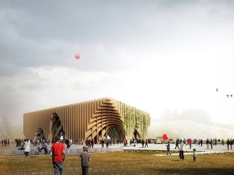 French Pavilion Expo Milano 2015 by XTU Architects | sustain world | Scoop.it