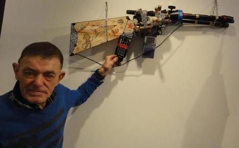 André Robillard : un artiste brut de décoffrage - la Nouvelle République | Art brut | Scoop.it