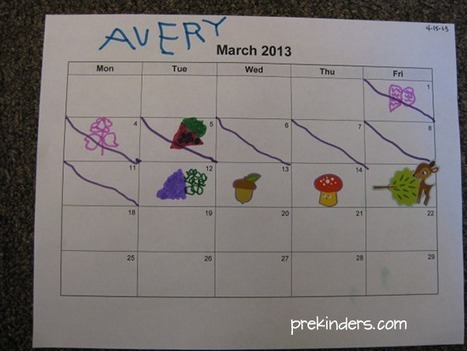 Making Calendar Time Meaningful in Pre-K - PreKinders | Kindergarten | Scoop.it