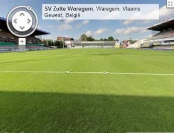 Zulte Waregem eerste Belgische voetbalclub met Google Streetview Virtuele Tour | Virtuele tour | Scoop.it