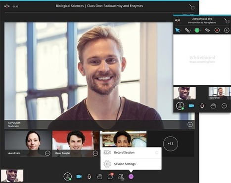 Introducing great new capabilities for Blackboard Collaborate: video recording, LTI-compliant LMS integration, and more. - Blackboard Blog | computer mediated communication | Scoop.it