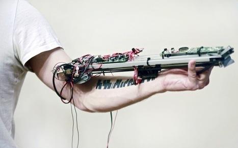 Un artiste utilise son tatouage comme instrument de musique | Digital Music News | Scoop.it