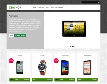 10 Best Free WordPress eCommerce Themes for Online Stores | WordPress Themes | Scoop.it