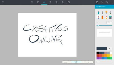 Microsoft presenta a Paint con un diseño renovado en la interfaz | Educacion, ecologia y TIC | Scoop.it