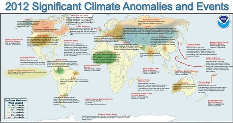 Map of significant climate events in 2012 | Trends in Sustainability | Scoop.it