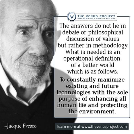 Jacque Fresco on Larry King Live | Self Sustaining Innovation | Scoop.it