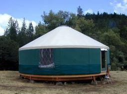Yourtes et tipis ont leur cadre légal | Maison ossature bois écologique | Scoop.it