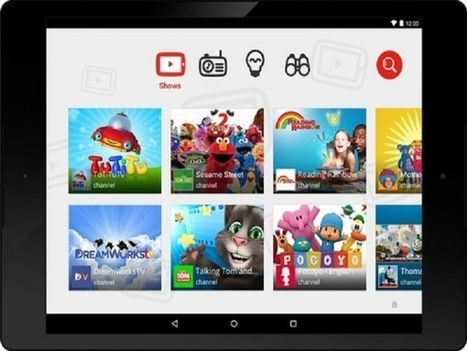 YouTube Kids App | Kids Tablet | Scoop.it