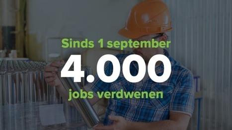 Bijna 4.000 banen verdwenen sinds 1 september | Socialisme Koekelberg | Scoop.it