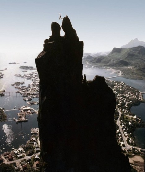 Svolværgeita: Jumping the Goat's Horns in Norway | Strange days indeed... | Scoop.it