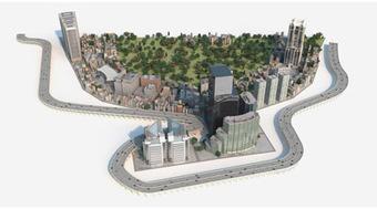 Quartier résidentiel 3D | 3D Library | Scoop.it