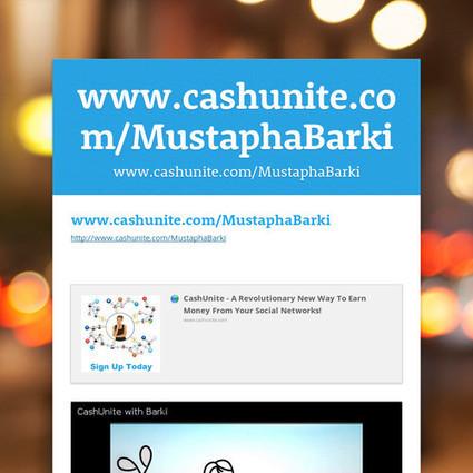 www.cashunite.com/MustaphaBarki | Chromium | Scoop.it