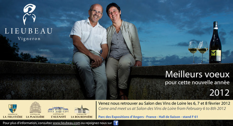 Invitation Salon des Vins de Loire 2012 « LIEUBEAU Vigneron | Vignerons de la Loire | Scoop.it