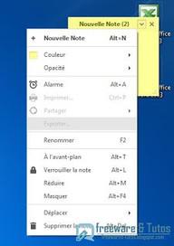 Simple Sticky Notes : un logiciel pour créer des notes et des pense-bêtes | François MAGNAN  Formateur Consultant | Scoop.it