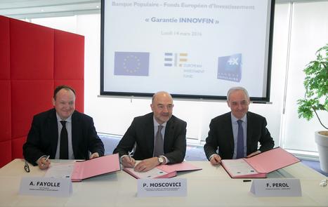 #Europe : Un accord de 300 millions d'euros pour doper le financement de l'innovation - Maddyness | Marketing & Hôpital | Scoop.it