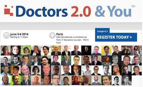 Join us at Doctors 2.0, 5-6 June in Paris | mHealth Insight: the blog ... | Doctors 2.0 & You | Scoop.it