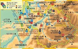 Topo-guide FFRandonnée D073 - La Savoie... à pied® | Actus Courchevel | Scoop.it