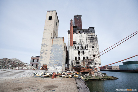 The Red Hook Grain Terminal | Exploration: Urban, Rural and Industrial | Scoop.it